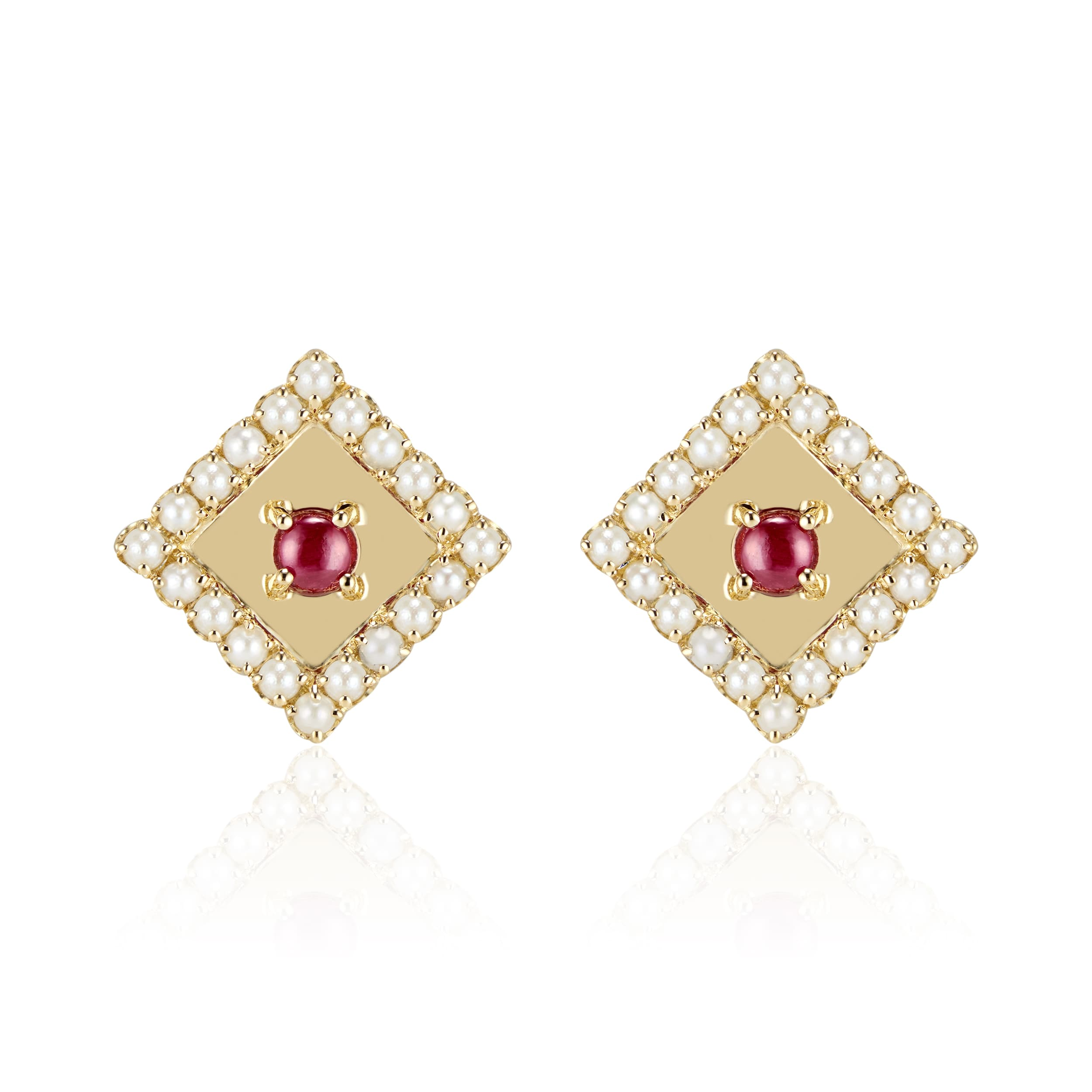 Najd Motif Pearls Earings